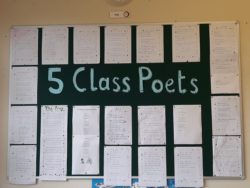 Sinéad and Grace's 5th - Poetry
