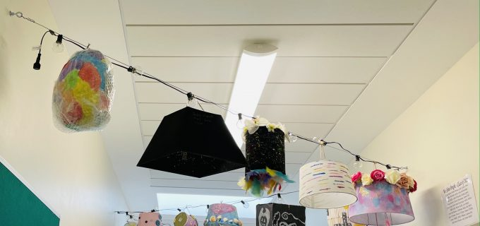 6th Class Graduation Project 2021 - Upcycled Lanterns